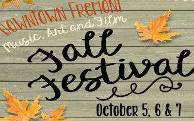 2018 Fall Festival Schedule