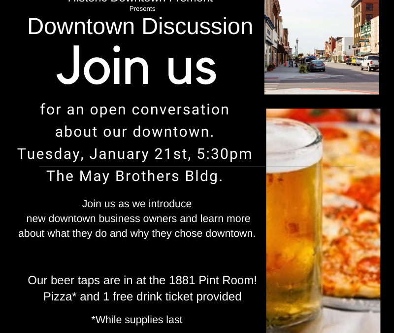 Downtown Discussion – January 21, 2020